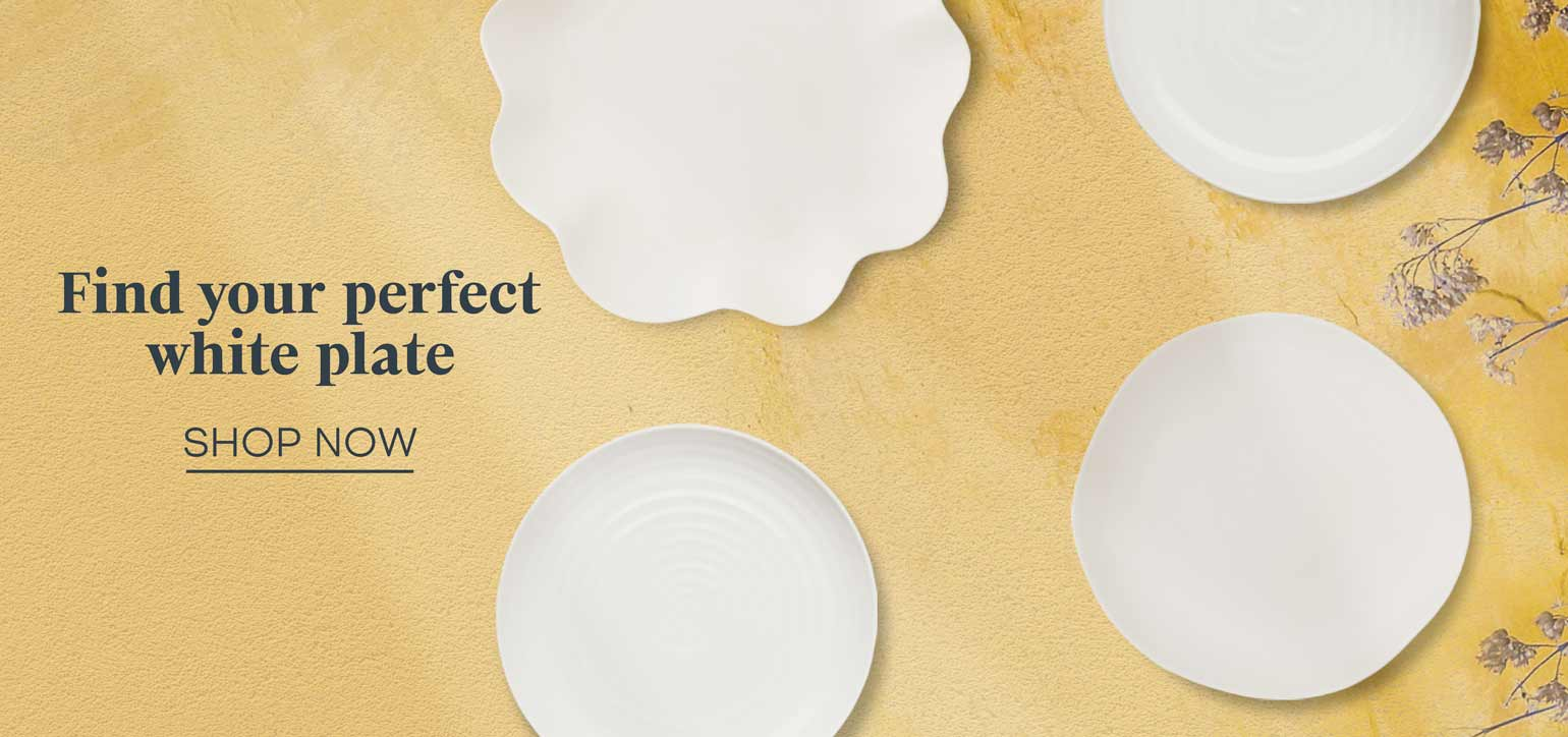 Discover our handpicked selection of white plates, perfect for any occasion. The staple you need in your home.