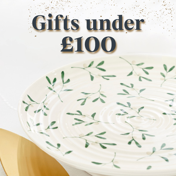 Gifts under £100, portmeirion gifts, luxury gifts