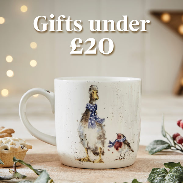 Gifts under £20, portmeirion gifts, luxury gifts