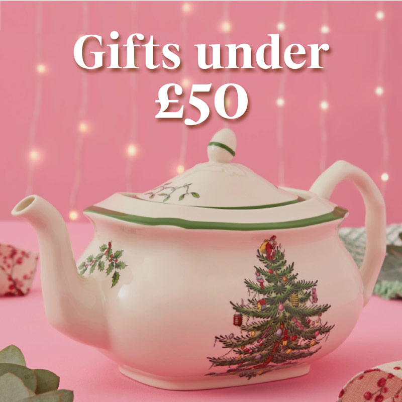 Gifts under £50, portmeirion gifts, luxury gifts